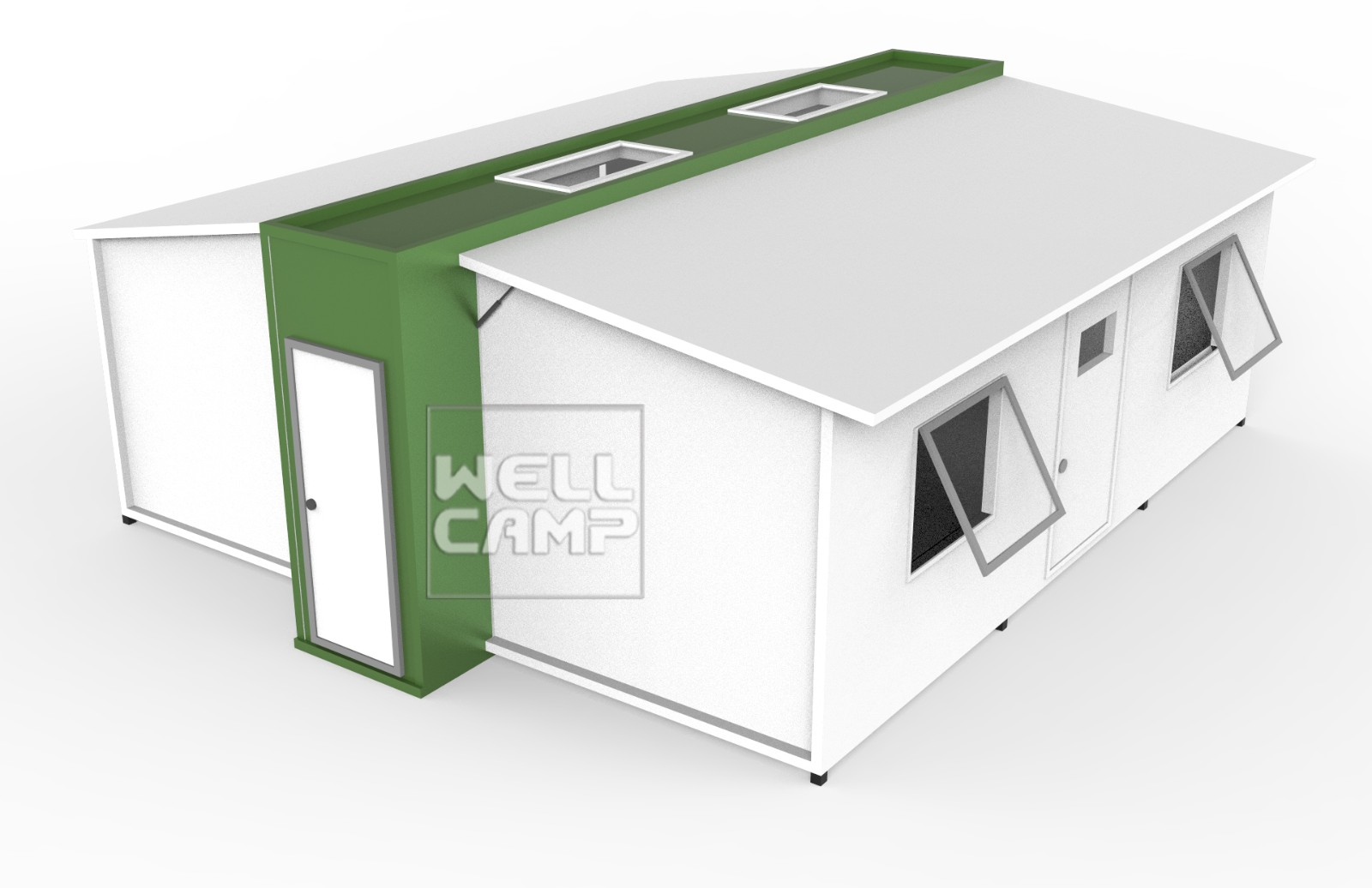 WELLCAMP-Expandable Container Shelters House For Family Student Dormitory E-01-1