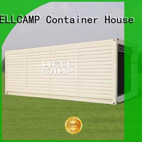 WELLCAMP Brand fireproof shipping container home builders modified factory
