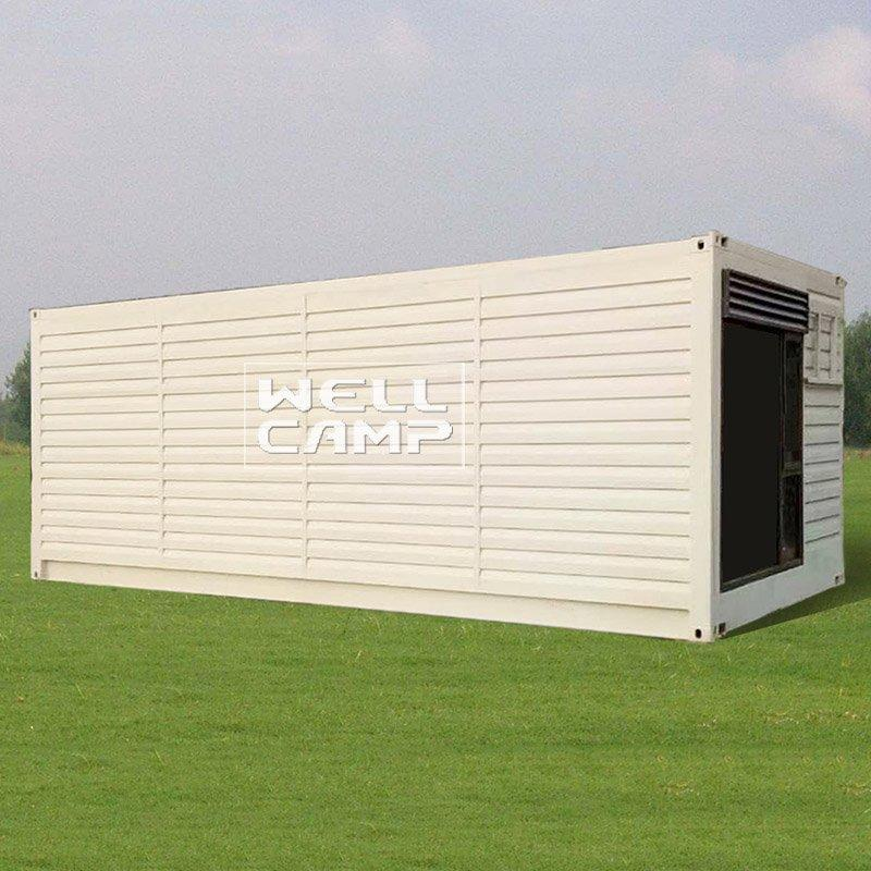 Guangdong Wellcamp modified shipping container  Custom-made prefabricated resort pre-built shipping container homes  + S01