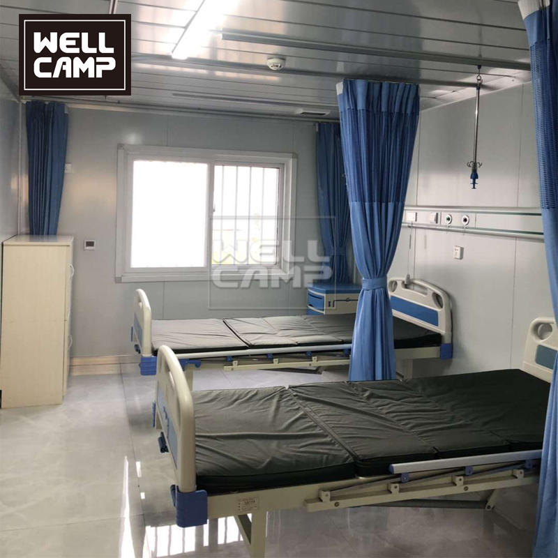 China Emergency Container Hospital for Coranavirus Modular Quarantine Hospital