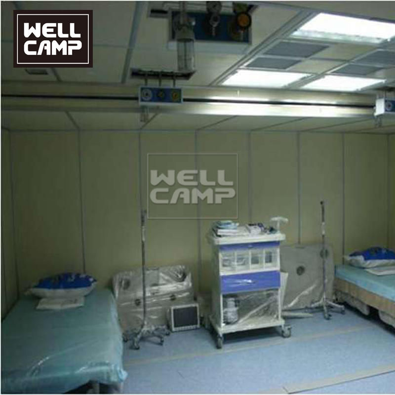 Movable Container Hospital for Coronavirus Covid-19 Butterfly Expandable Flat Pack Container House