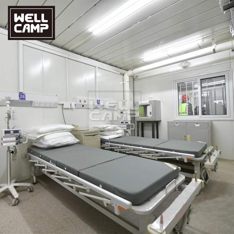 Temporary Container Hospital for Coronavirus Cabin hospital