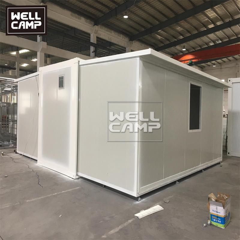 Prefabcriated Expandable Container Hospital for Coronavirus Isolation Quarantine