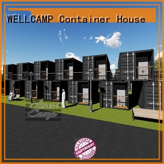 Hot houses made out of shipping containers panel WELLCAMP Brand