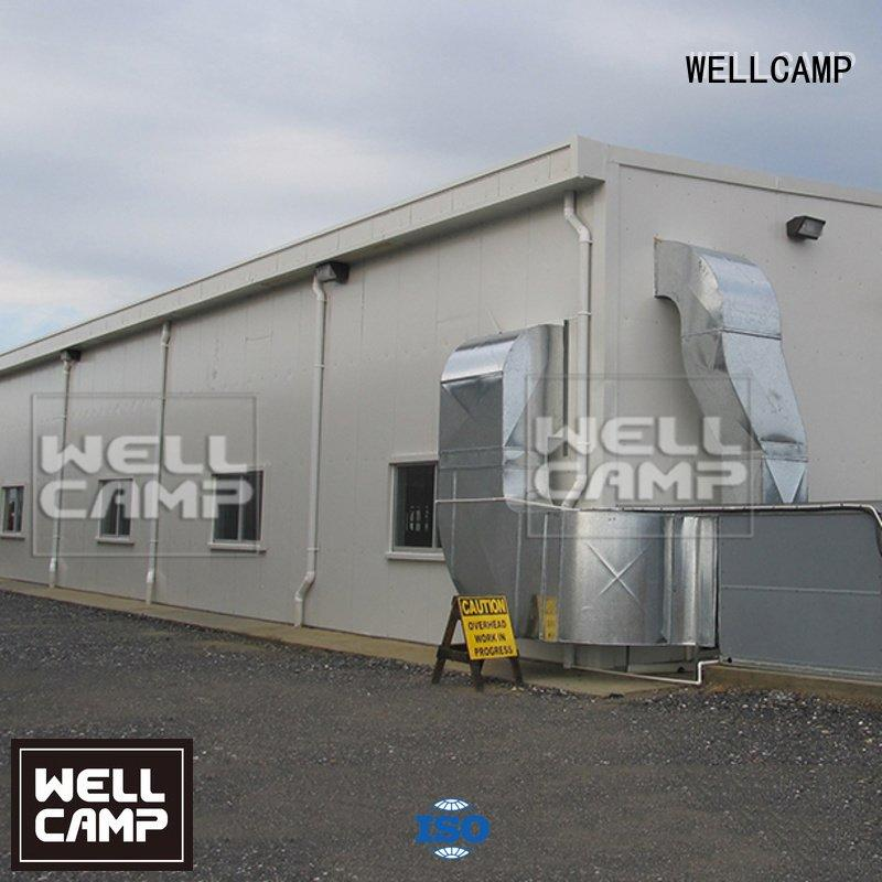 steel chicken farm light multifunctional OEM steel warehouse WELLCAMP