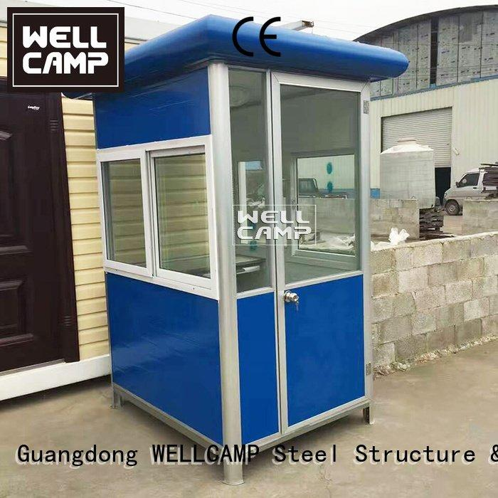 security stainless steel security booth for sale WELLCAMP
