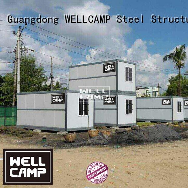 WELLCAMP Brand storey camp cost foldable container colour