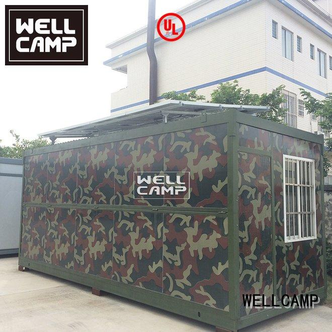 home sandwich military foldable container WELLCAMP