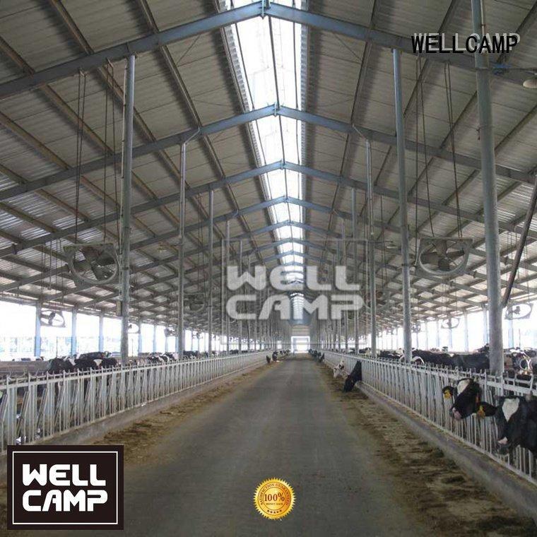 steel steel warehouse WELLCAMP steel chicken farm