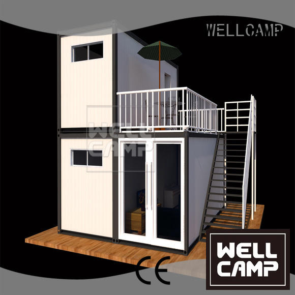 flat pack 20 ft container easy container structure Warranty WELLCAMP