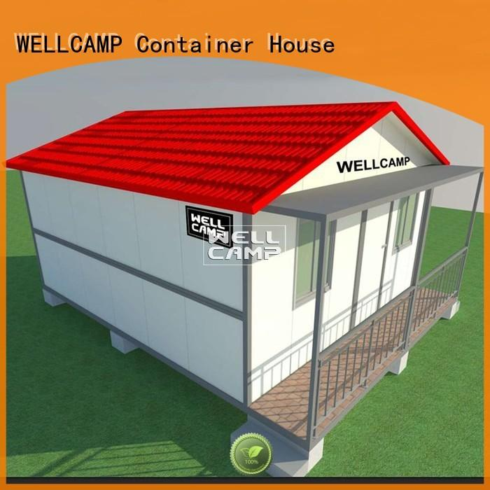 resort kit container villa slpendid family WELLCAMP company