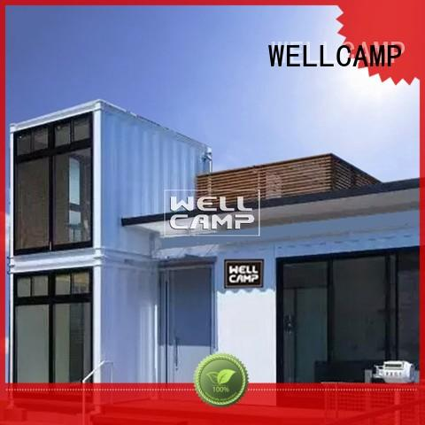 Quality WELLCAMP Brand two ecofriendly container villa