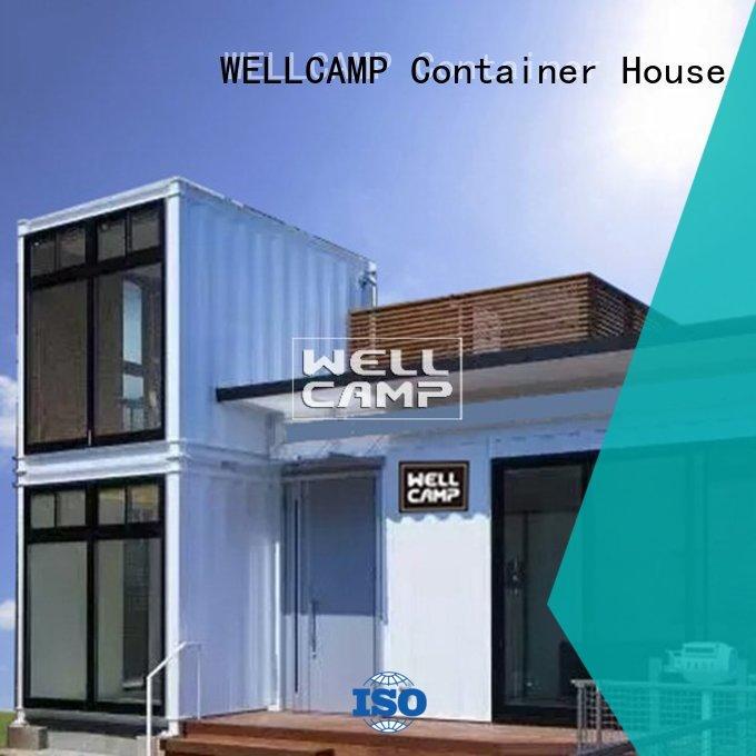 resort panel hotel container villa folding WELLCAMP