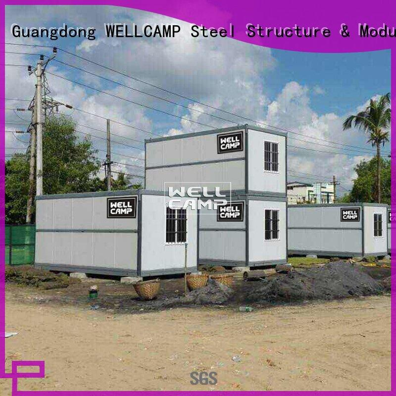 home container design foldable container WELLCAMP