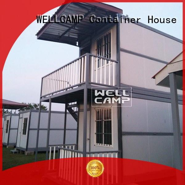 removable three OEM container villa WELLCAMP