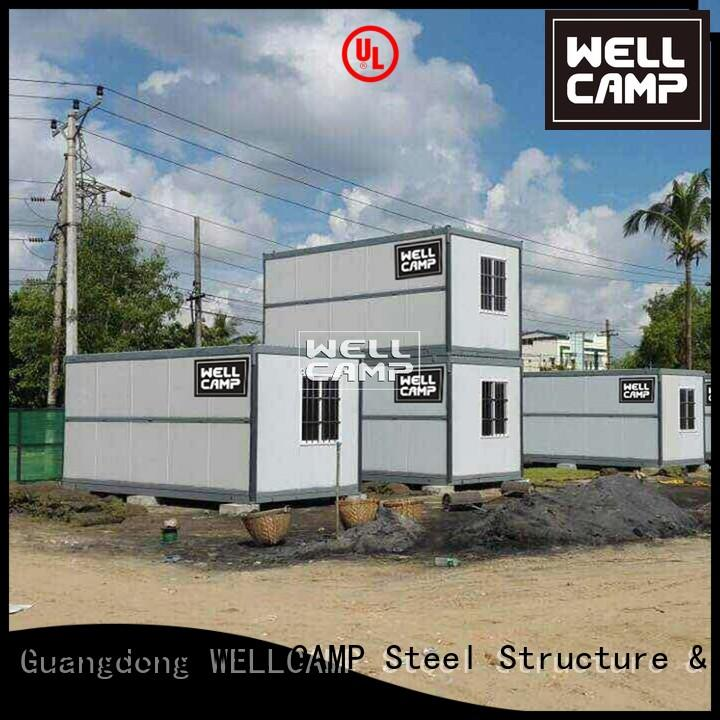 Hot foldable container workshop WELLCAMP Brand