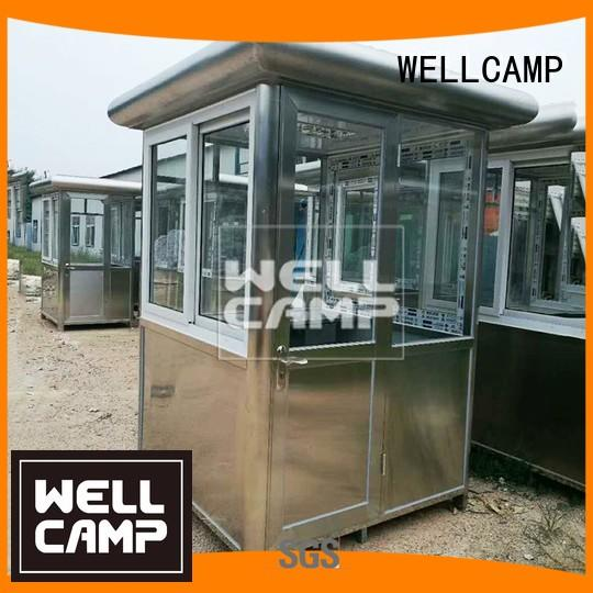 40ft feet security booth room WELLCAMP company