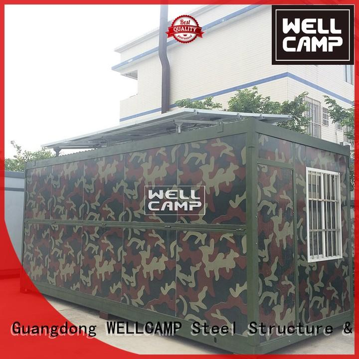 WELLCAMP Brand colour storey camp f05 foldable container