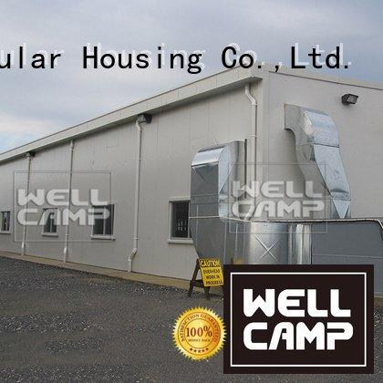 WELLCAMP Brand single farm dairy steel warehouse warehouse