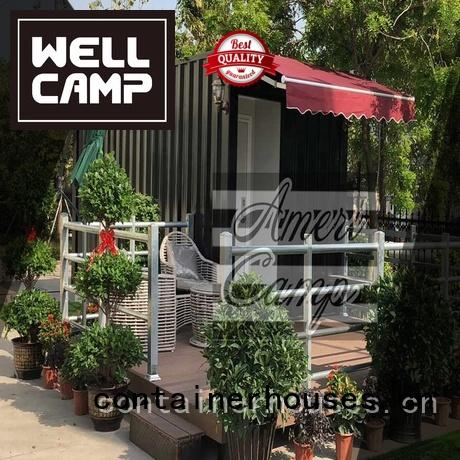 Wholesale house prefab shipping container home builders WELLCAMP Brand