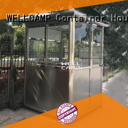 Wholesale sentry kiosk security booth WELLCAMP Brand