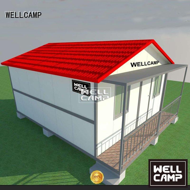 custom container homes villa portable resort kit WELLCAMP