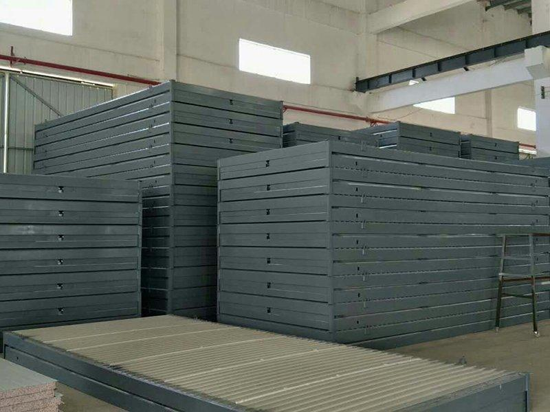 folding container storage