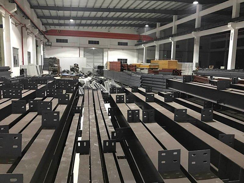 steel structure in our factory