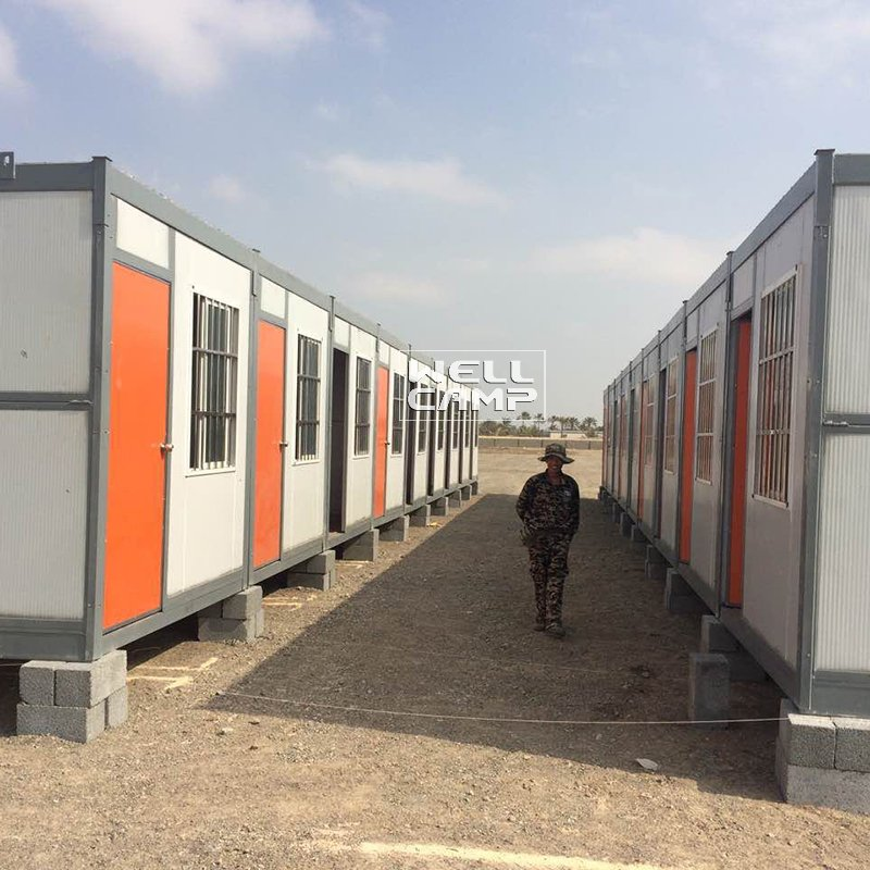 WELLCAMP Modern Low Cost Colour Design Folding Container House for Worker -F05 Folding Container House image58
