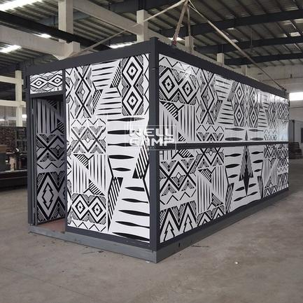 China Foldable Container House for Family & Office & Samll Workshop Mobile Homes For Sales To Be Moved -F04