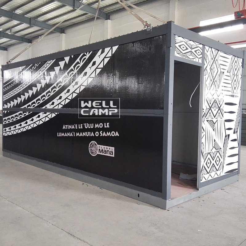 WELLCAMP Prefab Foldable Container House for Family & Office & Samll Workshop -F04 Folding Container House image57
