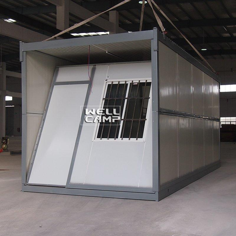 Folding Container House For Home, Office, Storage And Labor Camp Tiny Prefab House Manufactureres-F01