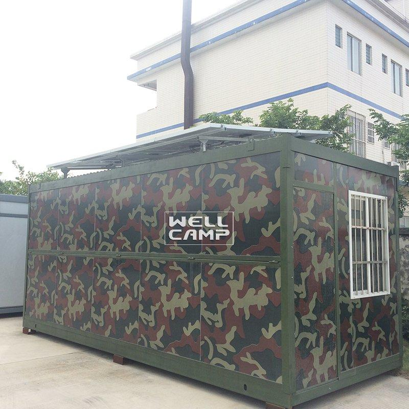 Folding Container House with Easy Housing Electrical System & Solar Panel Brand new mobile homes -F06