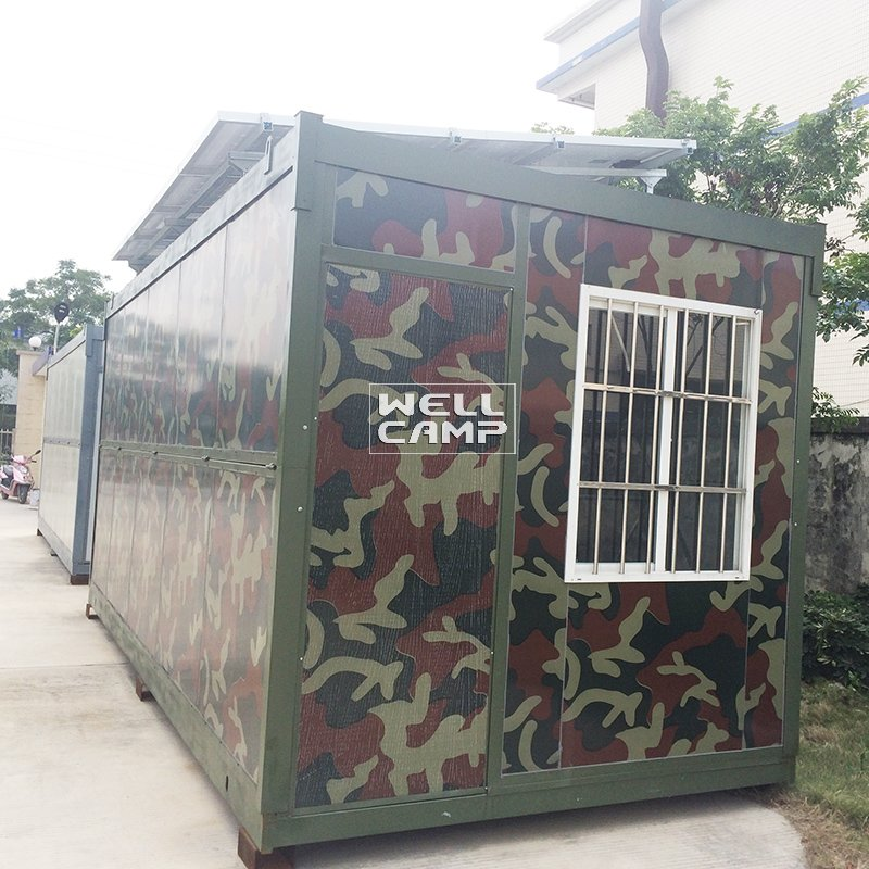 WELLCAMP Folding Container House with Easy Housing Electrical System & Solar Panel -F06 Folding Container House image55