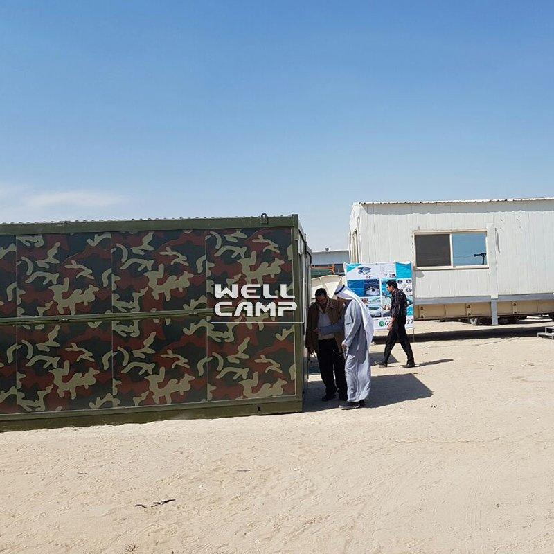 Prefab Folding Container Military Camp Economic House -F03