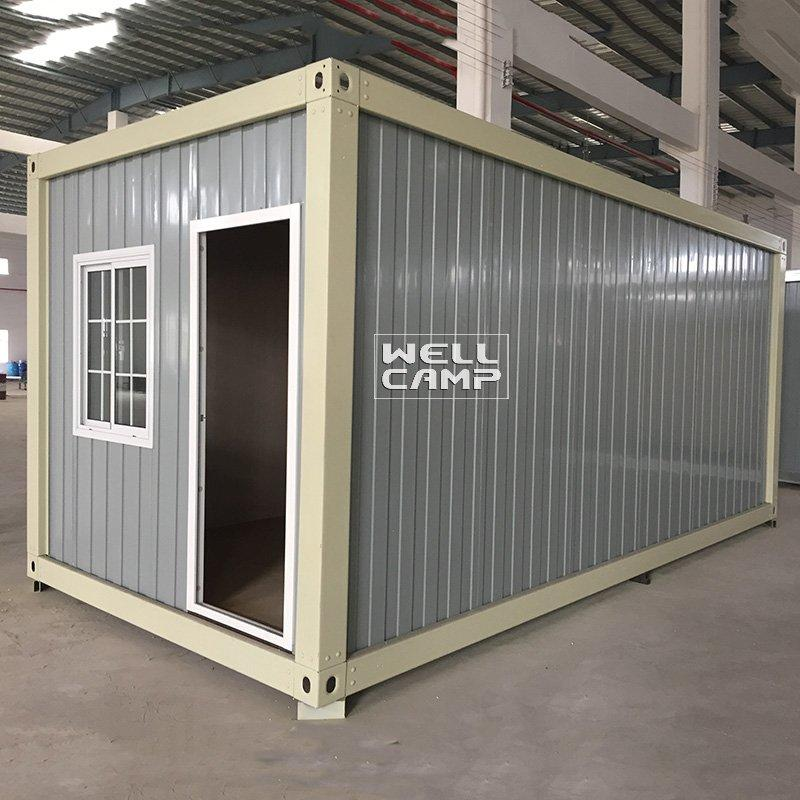 china Wellcamp 50mm IEPS Fireproof Sandwich Panel Detachable Container House Modern Prefab Home Kits -D01