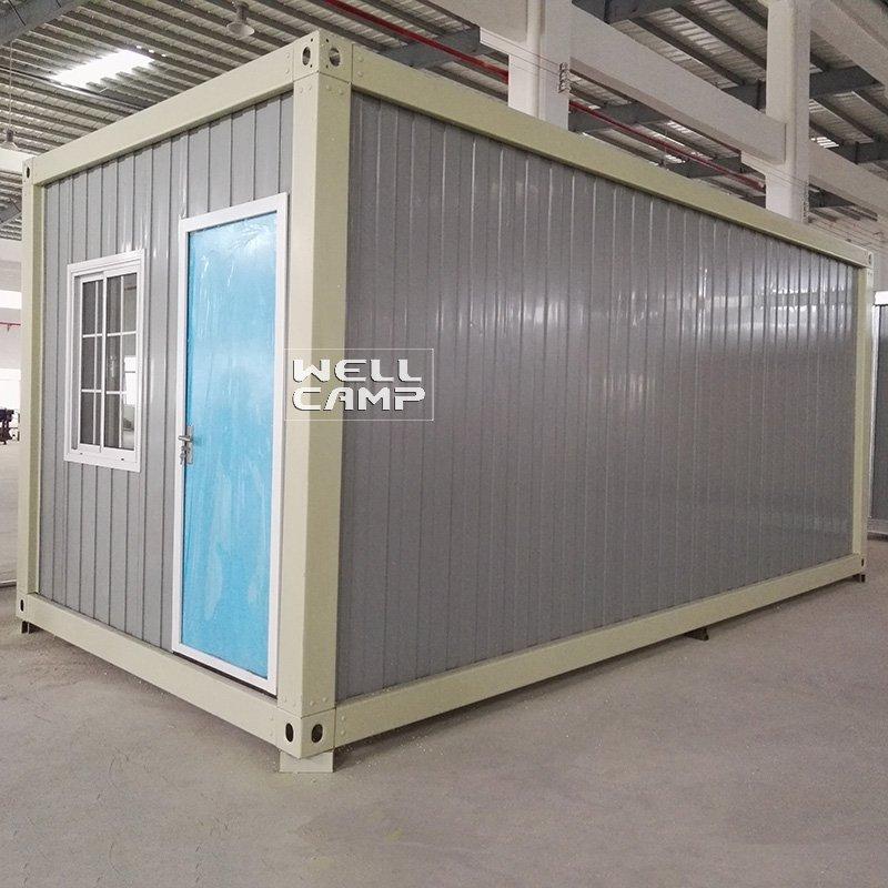 WELLCAMP 50mm IEPS Fireproof Sandwich Panel Detachable Container House -D01 Detachable Container House image52