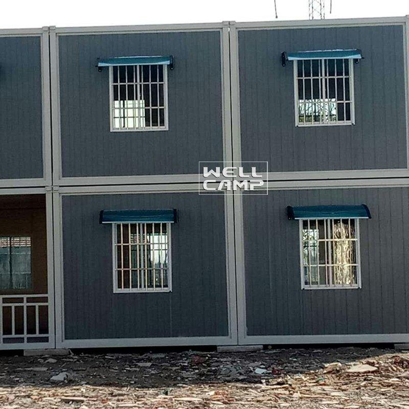 Eco Friendly Two Floor Detachable Container House for Office & Living  Two Story Manufactured Homes-D03