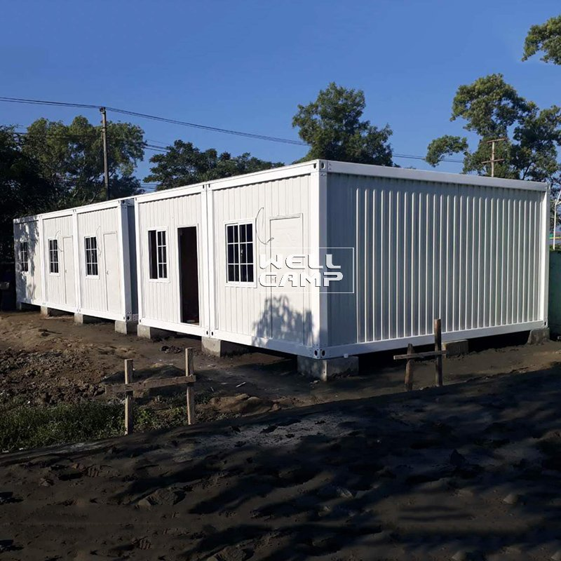 WELLCAMP Fireproof Detachable Container House for Red Cross Office -D04 Detachable Container House image44
