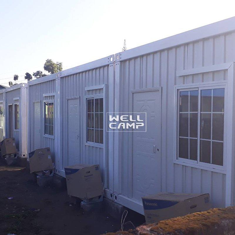 Container Villa Fireproof Detachable Container House for Red Cross Office Custom Manufactured  Homes -D04