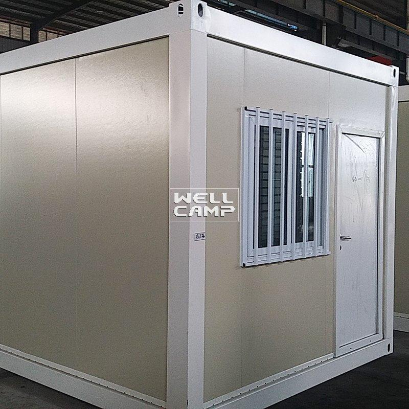 Modular Easy Installation Fireproof Flat Pack Container Tiny House Double Wide Manufactured Homes-P01