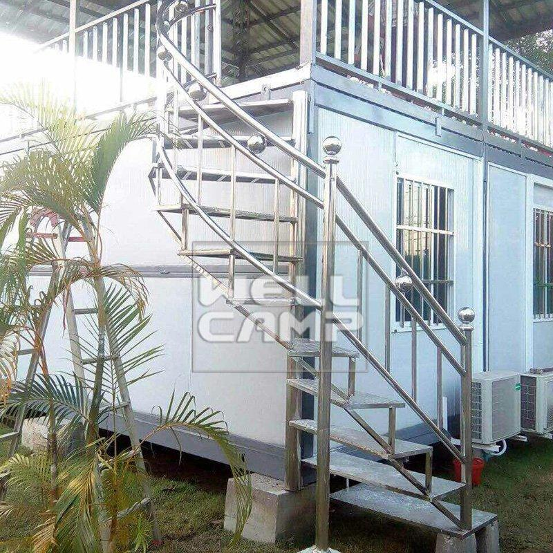 Prefabricated Two Floors Folding  Resort Container House Villa  Prefab Modern Farmhouse and Prefab Guest House -V11