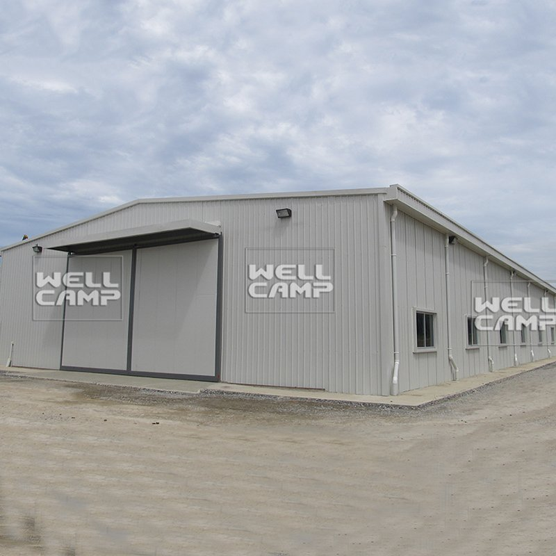 WELLCAMP Prefabricated Light Steel Structure Warehouse with EPS Sandwich Panel -W01 Steel Structure image32