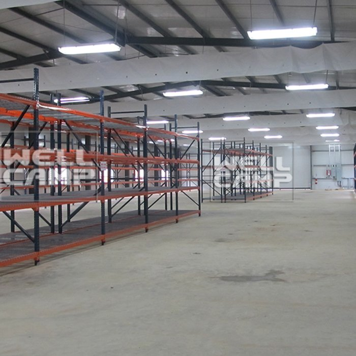 WELLCAMP Prefabricated Light Steel Structure Warehouse with EPS Sandwich Panel -W01 Steel Structure image37