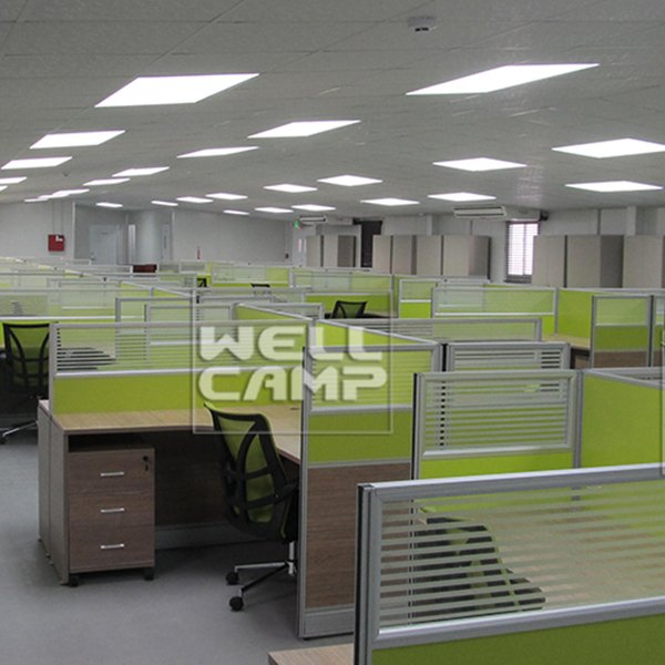 WELLCAMP Single Steel Sheet or Sandwich Panel Steel Structure Canteen & Office -W02 Steel Structure image36