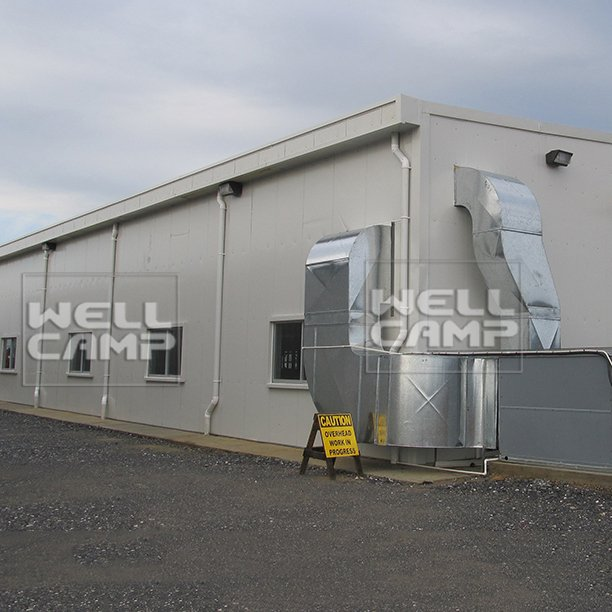 WELLCAMP Large-Span Panel Prefab Light Steel Structure Workshop Frame & Warehouse -W03 Steel Structure image30