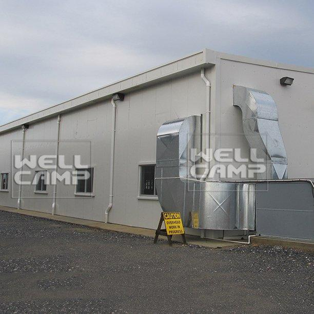 Large-Span Panel Prefab Light Steel Structure Workshop Frame & Warehouse Prefabricated Construction For Storage Room -W03