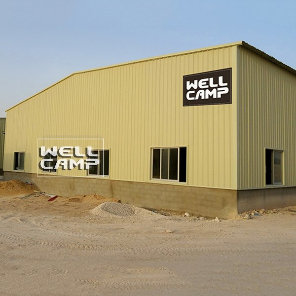 WELLCAMP Multifunctional Industrial Prefab Steel Structrual Building Shed Warehouse -W04 Steel Structure image29