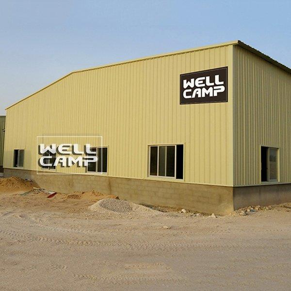 Multifunctional Industrial Prefab Steel Structure Building Shed Warehouse Modern Manufactured Warehouse  -W04
