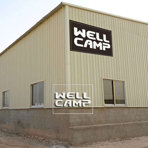 WELLCAMP Multifunctional Industrial Prefab Steel Structrual Building Shed Warehouse -W04 Steel Structure image34